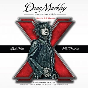 Dean Markley Introduces Nikki Sixx Helix HD SS Bass Strings