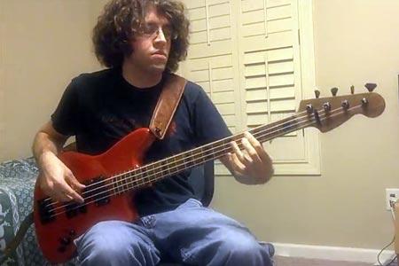 "Joseph Cote: ""The Real Me"" Bass Playalong"