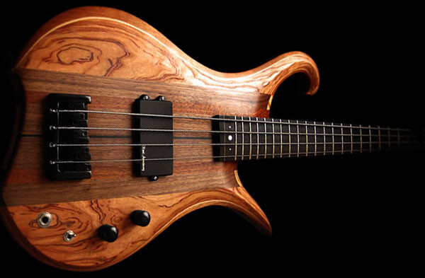 Eve Guitars Introduces Elite Line Fretted 4 Bass