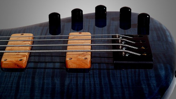 GMR Bass Guitars Bassforce NT - pickups