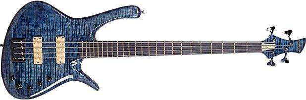 GMR Bass Guitars Bassforce NT - blue