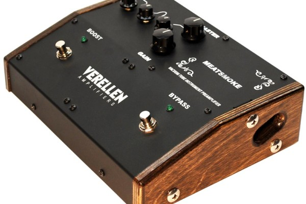 Verellen Amplifiers Introduces Meatsmoke Preamp Pedal