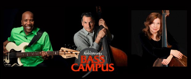 ArtistWorks bass instructors: Nathan East, John Patitucci and Missy Raines