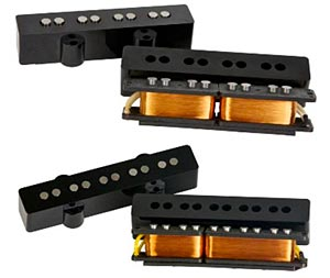 Aguilar 4J-HC and 5J-HC J-Style Pickups