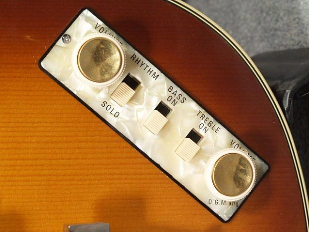 Hofner 500/1 Vintage '63 Violin Bass - controls