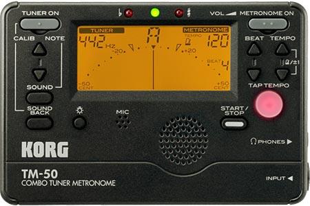 Korg Releases TM-50 Combo Tuner Metronome
