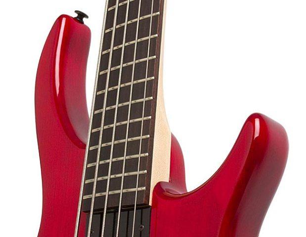 Epiphone Toby Deluxe-V Bass - Asymmetrical neck