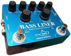 HAO Bass Liner Preamp Pedal