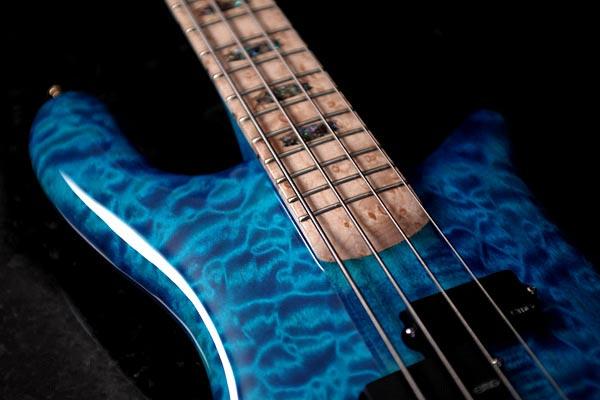 Spector NS-2 Bass - fingerboard
