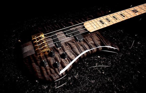 Spector NS-2 Bass - Trans-black body
