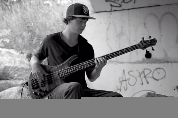 "Adam Stevens: Solo Bass Arrangement of Red Hot Chili Peppers' ""Under The Bridge"""