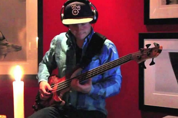 """Adam Stevens: All Bass Cover of John Mayer's """"Slow Dancing In A Burning Room"""""""