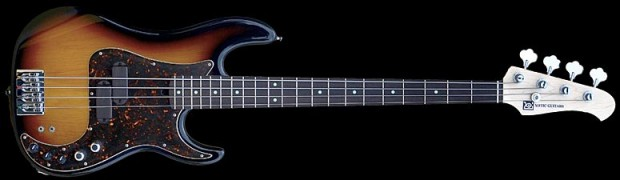 Xotic 4-String XP-1T Bass - 3-Tone Burst