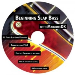 Beginning Slap Bass DVD with MarloweDK
