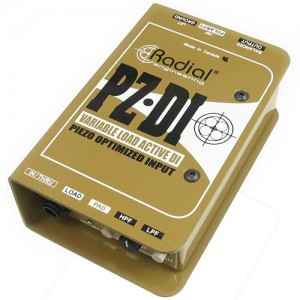 Radial Engineering PZ-DI Orchestral Acoustic Direct Box