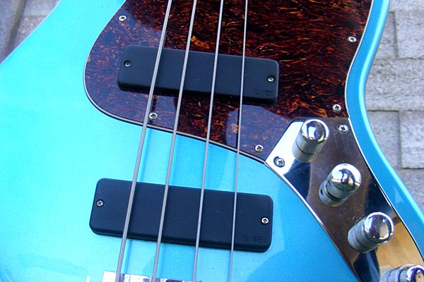 Reed James Custom Pickups Introduces Vintage Modern ALNEO Soap Bar Bass Pickup