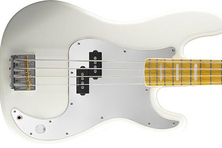 Squier Introduces Chris Aiken Signature Precision Bass