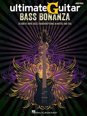 "Hal Leonard Releases ""Ultimate-Guitar Bass Bonanza"""