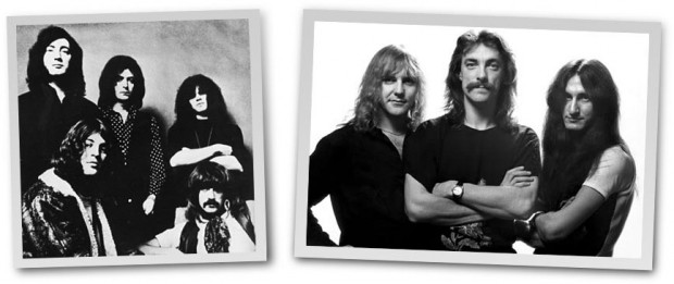 Deep Purple and Rush