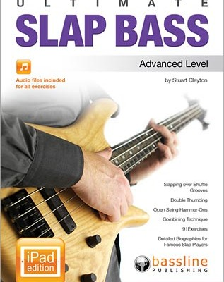 Bassline Publishing Releases iPad Versions of Ultimate Slap Bass Series