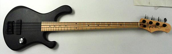 Bootleg Guitars Dawg Pounder Bass - full view