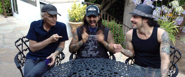 Billy Sheehan, Mike Portnoy and Richie Kotzen