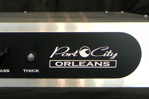 Port City Amplification Introduces Orleans All Tube Bass Preamp