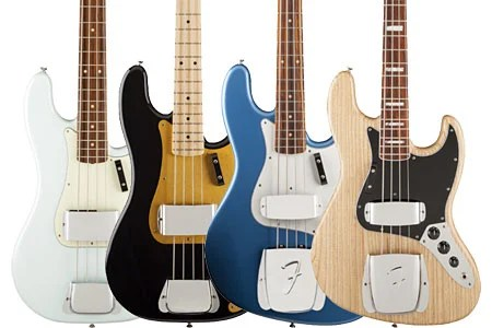 Fender Introduces Four New American Vintage Basses