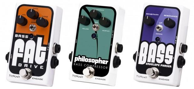 Pigtronix 2013 Bass Pedals