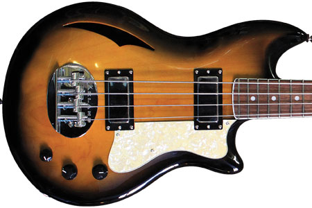 Lakland Introduces Skyline Hollowbody 30 Bass