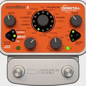 Source Audio Now Shipping Soundblox 2 Orbital Modulator