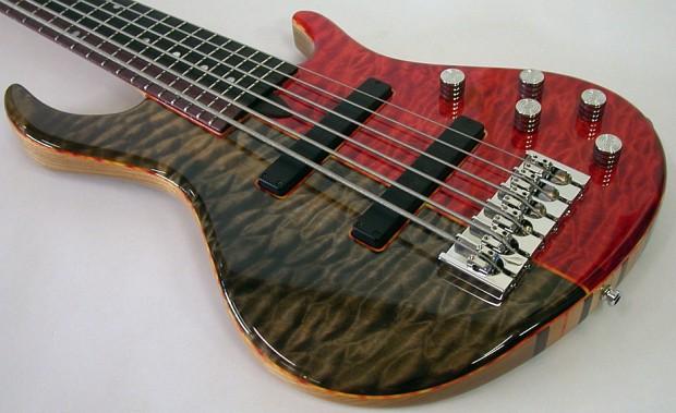 Amfisound Hellbass 6-string bass
