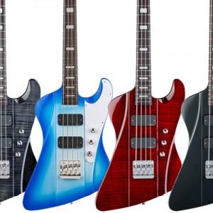 DBZ Guitars Now Shipping Hailfire Basses