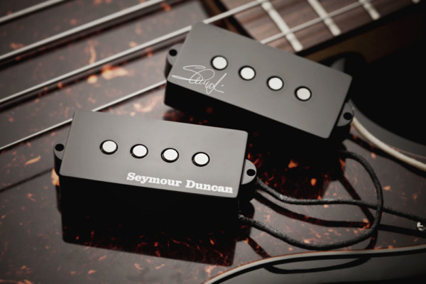 Seymour Duncan Introduces SPB-4 Steve Harris Signature Pickup