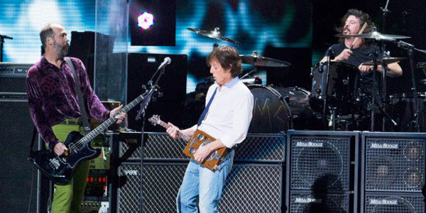 Paul McCartney Reportedly Recorded a New Song with Nirvana Members for Upcoming Album