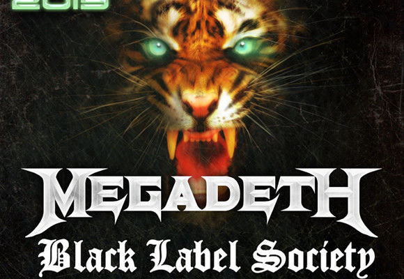 Gigantour 2013 to Feature Megadeth, Black Label Society, Newsted
