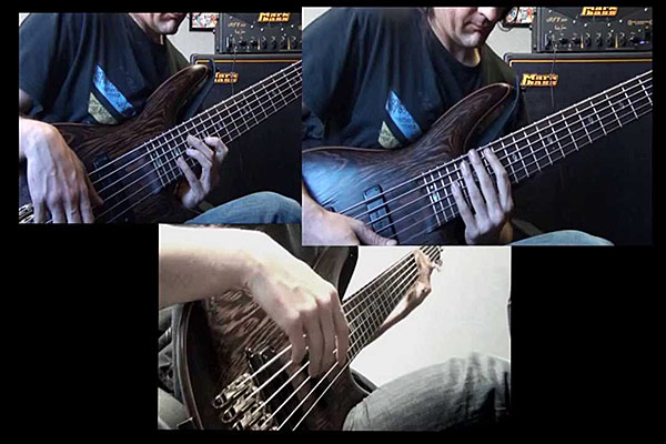 "Franck Hermanny: All Bass Cover of Greg Howe's ""Jump Start"""
