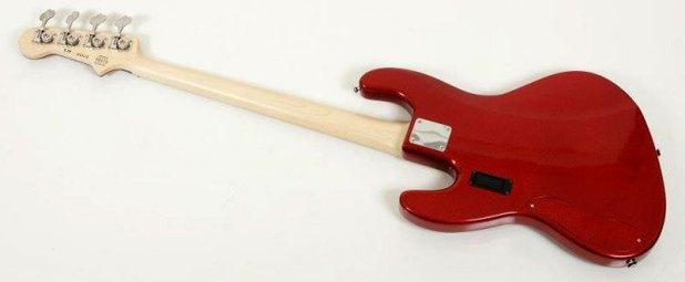 Artisan Bass Works Classic Bass - Metallic back