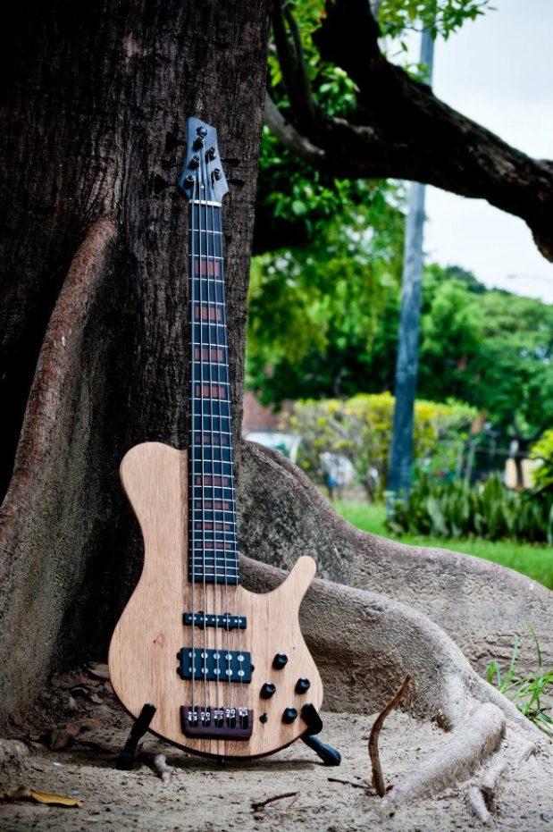 Bajos Colmenares #22 Bass - front