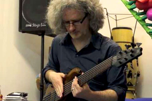 """Steve Lawson: """"Don't Stop Believing"""" Solo Bass Cover"""