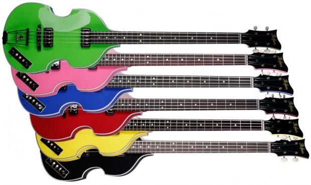 Höfner Gold Label Series Violin Basses