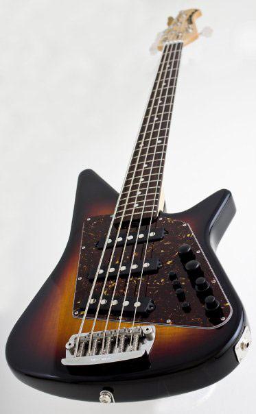Music Man Big Al 5 Bass Angle view