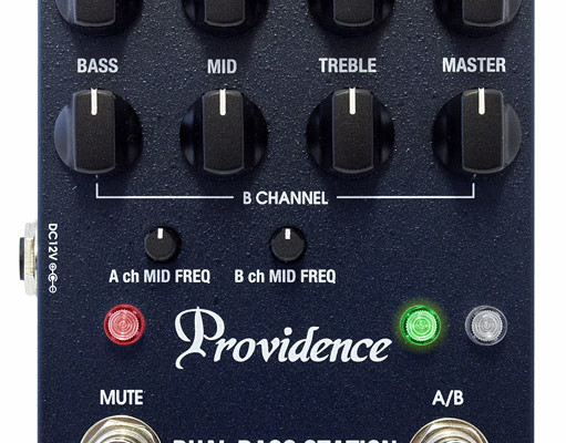 Providence Effects Announces the Dual Bass Station Preamp