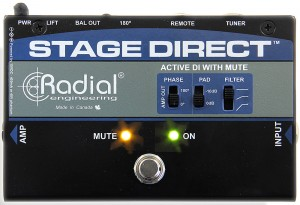 Radial Engineering StageDirect Muting Direct Box