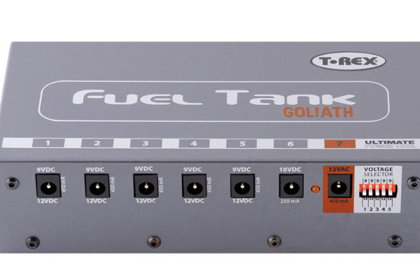 T-Rex Effects Introduces Fuel Tank Goliath Power Supply