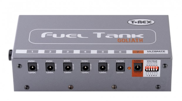 T-Rex Effects Fuel Tank Goliath Power Supply