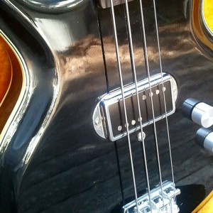 Old School: 1973 Acoustic Control Corporation Black Widow Bass