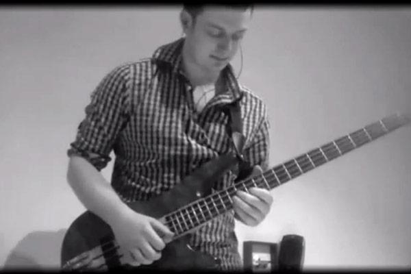 """Bassment Dan: Slap Bass Arrangement of Lady Gaga's """"Just Dance"""""""