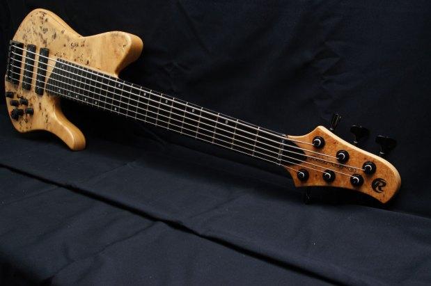Aurora NW6BP Bass - neck perspective
