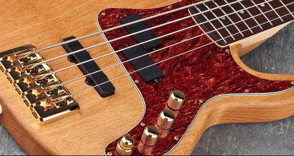 Carvin Unveils PB4 and PB5 Basses